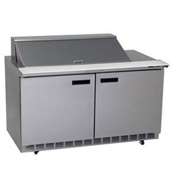 DEL4464N18M - Delfield - 4464N-18M - 2 Section 64 1/8 in Mega Top Refrigerated Base w/ Doors Product Image