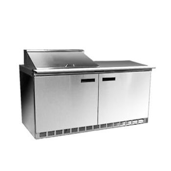 DEL4464N8 - Delfield - 4464N-8 - 2 Section 64 1/8 in Salad Top Refrigerated Base w/ Doors Product Image