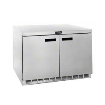 DEL4560N - Delfield - 4560N - 2 Section 60 1/8 in Flat Top Freezer Base w/ Doors Product Image