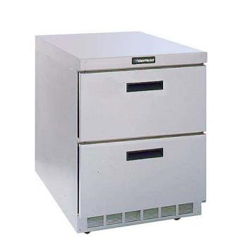 DELD4432N - Delfield - D4432N - 1 Section 32 1/8 in Flat Top Refrigerated Base w/ Drawers Product Image