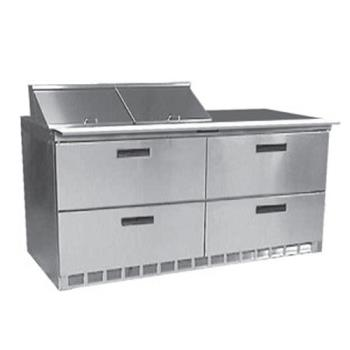 DELD4460N12 - Delfield - D4460N-12 - 2 Section 60 1/8 in Salad Top Refrigerated Base  Product Image