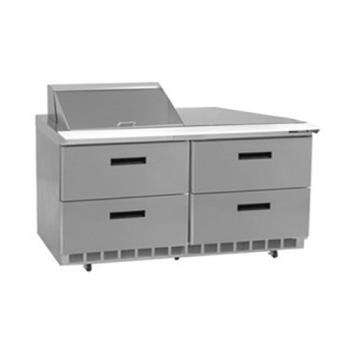 DELD4460N12M - Delfield - D4460N-12M - 2 Section 60 1/8 Mega Top Refrigerated Base w/ Drawers Product Image