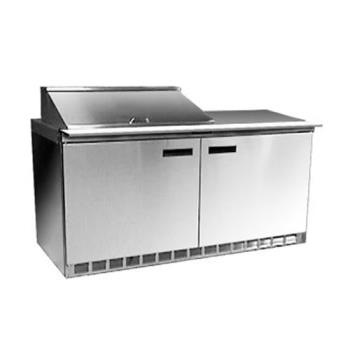 DELD4460N8 - Delfield - D4460N-8 - 2 Section 60 1/8 Salad Top Refrigerated Base w/ Drawers Product Image
