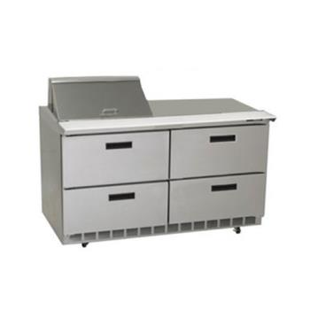 DELD4464N12M - Delfield - D4464N-12M - 2 Section 64 1/8 in Mega Top Refrigerated Base  Product Image