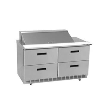 DELD4464N18M - Delfield - D4464N-18M - 2 Section 64 1/8 in Mega Top Refrigerated Base  Product Image