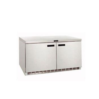 DELD4464N - Delfield - D4464N - 2 Section 64 1/8 in Flat Top Refrigerated Base w/ Drawers Product Image
