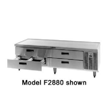DELF2856 - Delfield - F2856 - 56 1.4 in Remote Low-Profile Refrigerated Stand Product Image
