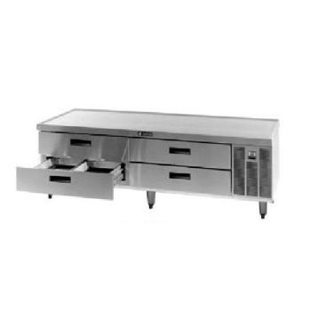 DELF2880 - Delfield - F2880 - 80 1/4 in Remote Low-Profile Refrigerated Stand Product Image
