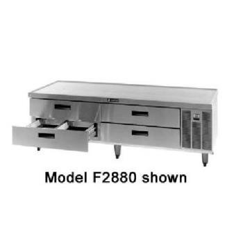 DELF2887 - Delfield - F2887 - 87 1/4 in Remote Low-Profile Refrigerated Stand Product Image