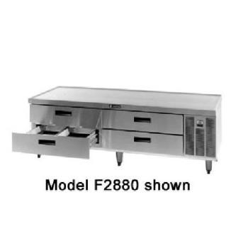 DELF2899 - Delfield - F2899 - 99 1/4 in Remote Low-Profile Refrigerated Stand Product Image