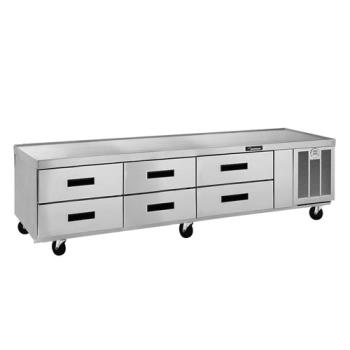 DELF2987C - Delfield - F2987CP - 87 1/4 in Low-Profile Refrigerated Stand Product Image