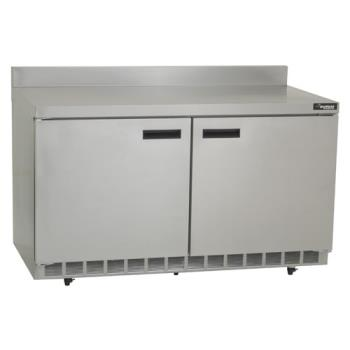 DELST4460N - Delfield - GUR60BP-S - 2 Section 60 1/8 Flat Top Refrigerated Base w/ Doors Product Image