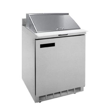 DELST4427N12M - Delfield - ST4427N-12M - 3 Section 27 1/8 in Mega Top Refrigerated Base w/ Doors Product Image