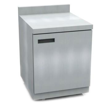 DELST4427N - Delfield - ST4427N - 3 Section 27 1/8 in Flat Top Refrigerated Base w/ Doors Product Image