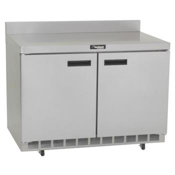 DELST4448N - Delfield - ST4448N - 2 Section 48 1/8 in Flat Top Refrigerated Base w/ Doors Product Image