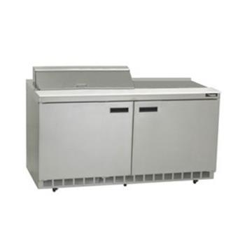 DELST4460N12M - Delfield - ST4460N-12M - 2 Section 60 1/8 Mega Top Refrigerated Base w/ Doors Product Image