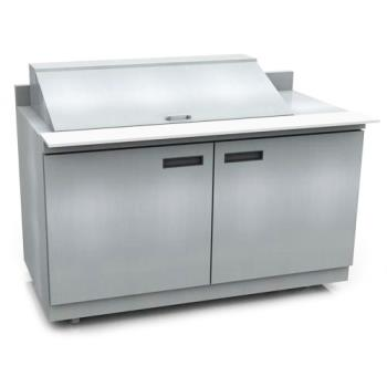 DELST4460N18M - Delfield - ST4460N-18M - 2 Section 60 1/8 Mega Top Refrigerated Base w/ Doors Product Image