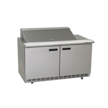 DELST4464N12 - Delfield - ST4464N-12 - 2 Section 64 1/8 in Salad Top Refrigerated Base w/ Doors Product Image