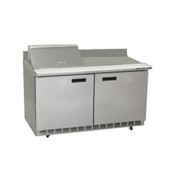 DELST4464N12M - Delfield - ST4464N-12M - 2 Section 64 1/8 in Mega Top Refrigerated Base w/ Doors Product Image