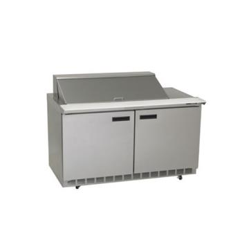 DELST4464N18M - Delfield - ST4464N-18M - 2 Section 64 1/8 in Mega Top Refrigerated Base w/ Doors Product Image