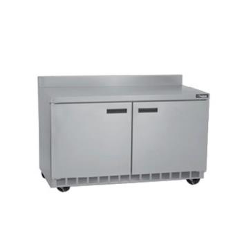DELST4464N - Delfield - ST4464N - 2 Section 64 1/8 in Flat Top Refrigerated Base w/ Doors Product Image