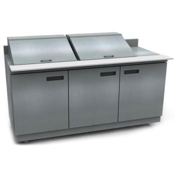 DELST4472N24M - Delfield - ST4472N-24M - 3 Section 72 1/8 in Mega Top Refrigerated Base w/ Doors Product Image