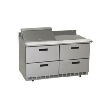 DELSTD4460N12M - Delfield - STD4460N-12M - 2 Section 60 1/8 Mega Top Refrigerated Base w/ Drawers Product Image