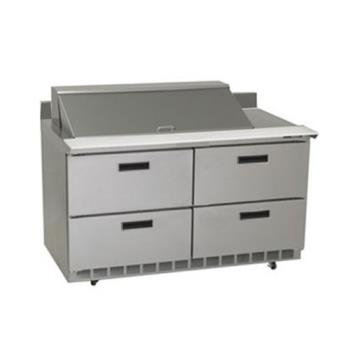 DELSTD4460N18M - Delfield - STD4460N-18M - 2 Section 60 1/8 Mega Top Refrigerated Base w/ Drawers Product Image