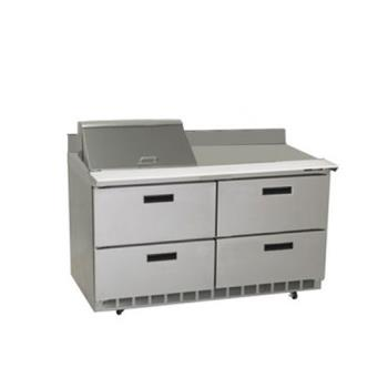 DELSTD4464N12M - Delfield - STD4464N-12M - 2 Section 64 1/8 in Mega Top Refrigerated Base  Product Image