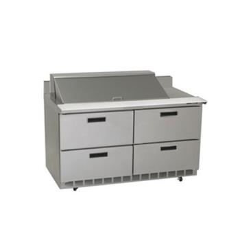 DELSTD4464N18M - Delfield - STD4464N-18M - 2 Section 64 1/8 in Mega Top Refrigerated Base  Product Image
