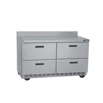 DELSTD4464N8 - Delfield - STD4464N-8 - 2 Section 64 1/8 in Salad Top Refrigerated Base  Product Image