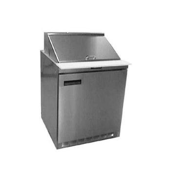 DELUC4427N6 - Delfield - UC4427N-6 - 3 Section 27 1/8 in Salad Top Refrigerated Base w/ Doors Product Image