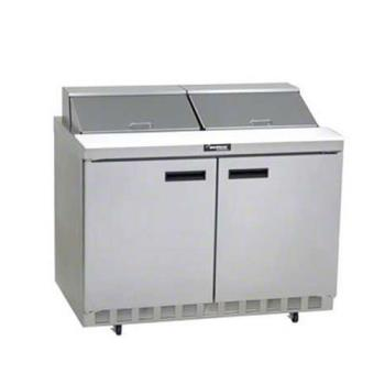 DELUC4448N12 - Delfield - UC4448N-12 - 2 Section 48 1/8 in Salad Top Refrigerated Base w/ Doors Product Image
