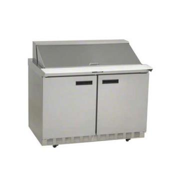 DELUC4448N18M - Delfield - UC4448N-18M - 2 Section 48 1/8 in Mega Top Refrigerated Base w/ Doors Product Image