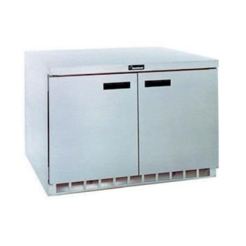 DELUC4448N - Delfield - UC4448N - 2 Section 48 1/8 in Undercounter Refrigerated Base w/ Doors Product Image
