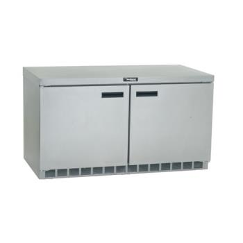 DELUC4460N - Delfield - UC4460N - 2 Section 60 1/8 Undercounter Refrigerated Base w/ Doors Product Image