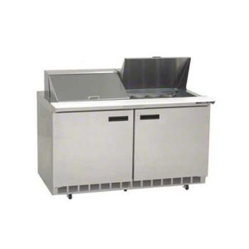DELUC4460N24M - Delfield - UC4460N-24M - 2 Section 60 1/8 Mega Top Refrigerated Base w/ Doors Product Image