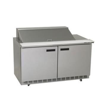 DELUC4464N18M - Delfield - UC4464N-18M - 2 Section 64 1/8 in Mega Top Refrigerated Base w/ Doors Product Image
