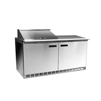 DELUC4464N8 - Delfield - UC4464N-8 - 2 Section 64 1/8 in Salad Top Refrigerated Base w/ Doors Product Image
