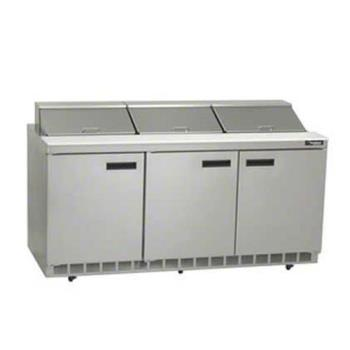 DELUC4472N30M - Delfield - UC4472N-30M - 3 Section 72 1/8 in Undercounter Refrigerated Base Product Image