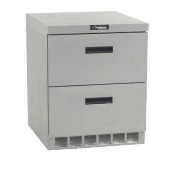 DELUCD4427N - Delfield - UCD4427N - 3 Section 27 1/8 in Undercounter Refrigerated Base w/ Drawers Product Image
