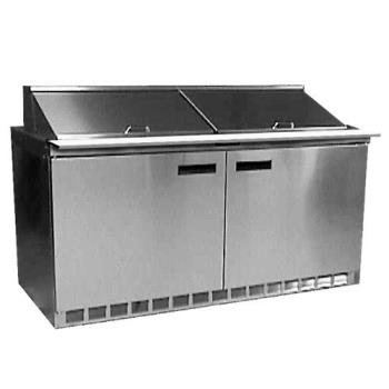 DELUCD4460N - Delfield - UCD4460N - 2 Section 60 1/8 Undercounter Refrigerated Base w/ Drawers Product Image