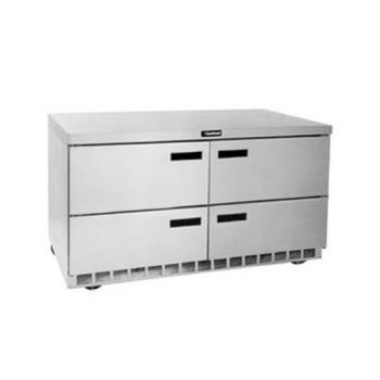 DELUCD4464N - Delfield - UCD4464N - 2 Section 64 1/8 in Undercounter Refrigerated Base w/ Drawers Product Image