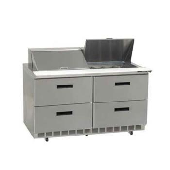 DELUCD4464N24M - Delfield - UCD4464N-24M - 2 Section 64 1/8 in Mega Top Refrigerated Base  Product Image