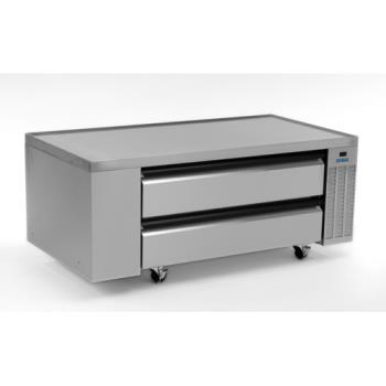 "SILSKRCB60H - Silver King - SKRCB60H/C10 - 60"" High Capacity Refrigerated Chef Base Product Image"