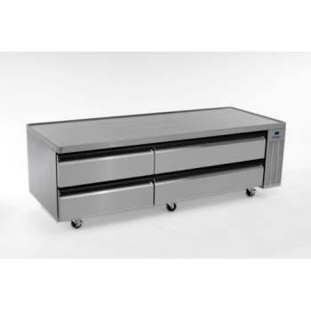 SILSKRCB79H - Silver King - SKRCB79H/C10 - 79 in High Capacity Refrigerated Chef Base Product Image