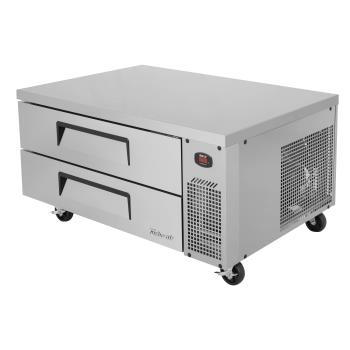 TURTCB48SDRN - Turbo Air - TCBE-48SDR-N - 2-Drawer 48 in Stainless Steel Chef Base Product Image