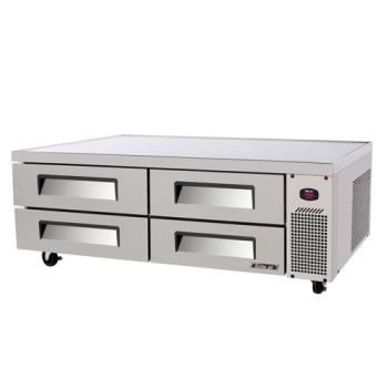 TURTCBE72SDR - Turbo Air - TCBE-72SDR - 4 Drawer 72 in Stainless Steel Chef Base Product Image
