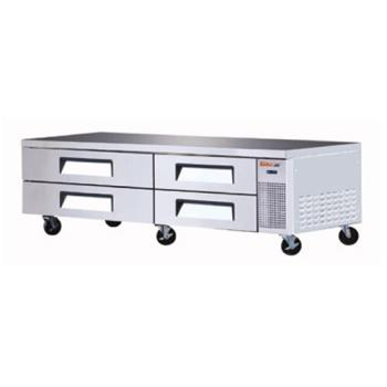 TURTCBE82SDR - Turbo Air - TCBE-82SDR - 4 Drawer 83 in Refrigerated Chef Base Product Image