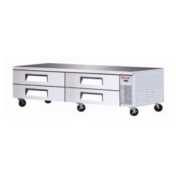 TURTCBE96SDR - Turbo Air - TCBE-96SDR - 4 Drawer 96 in Refrigerated Chef Base Product Image